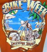 BIKE WEEK T Shirt Unisex Dayotona Beach Florida 71st annual 2012 size XL... - $12.73