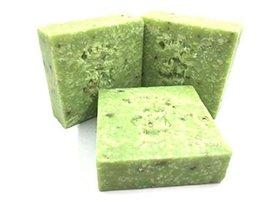 Homemade soap Wakame scrub cold process soap - $5.93