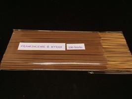 Frankincense & Myrrh Incense Stick Dipped with Natural Essential Oils(200sticks) - $23.36