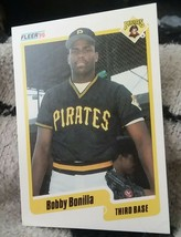 1990 Fleer Baseball card #462 Bobby Bonilla Pirates - $3.00