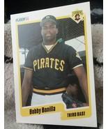 1990 Fleer Baseball card #462 Bobby Bonilla Pirates - $3.00
