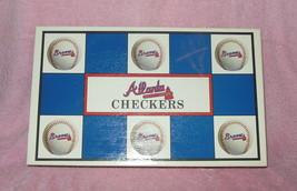 Mlb Licensed Atlanta Braves Los Angeles Dodgers Helmets Checkers Game - $19.99