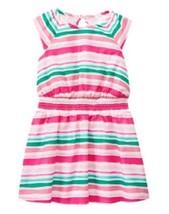 Gymboree Dress 5 5T Island Hopper Watercolor Stripe Pink Green NWT - $12.19