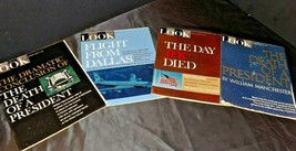 Look Magazines (Four)  John F. Kennedy  AA20-2253BB  Vintage Collectible