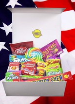 Large American Sweet Hamper. FREE AND FAST UK DELIVERY - $27.73
