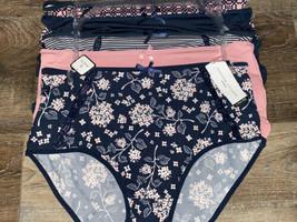Adrienne Vittadini Womens Brief Underwear Panties Polyester Blend 5-Pair... - $28.05