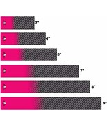 White Water Archery Laminated Pink Crossed Icon Skull Carbon Fiber Fade ... - $17.81