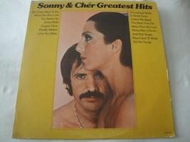 SONNY & CHER GREATEST HITS VINYL LP ALBUM 1974 MCA RECORD ALL I EVER NEE... - $18.55