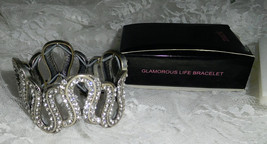 "Mark Glamorous Life Bracelet - 1 1/4"" tall - Stretch - OSFM - New in Box! - $20.67"
