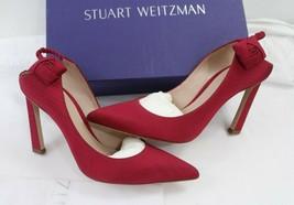 Stuart Weitzman Rossana Pump Garnet Moare sz 37/ 7  - $262.35