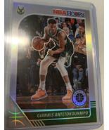 2019-20 NBA Hoops Premium Stock GIANNIS ANTETOKOUNMPO SILVER PRIZM BUCKS  - $14.01