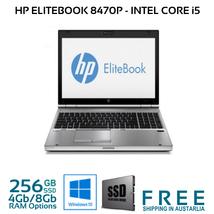 """HP Elitebook 8470p 14"""" i5-3360M 2.8Ghz 4GB/8Gb 256Gb SSD Win 10 Pro WIFI - $722.35"""