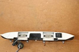 08 09 Enclave Acadia Rear Back Up Reverse Camera w/Tail Finish Panel Trunk Trim image 2