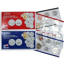 2004 P & D US Mint Set United States Original Government Packaging Box C... - £15.29 GBP