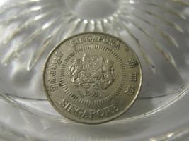 (FC-80) 1991 Singapore: 10 Cents - $1.00