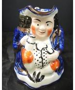 Colorful Antique Character Toby Mug * Sunderland England - $7.98