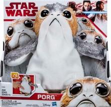 Star Wars: The Last Jedi Porg Electronic Plush - $50.94