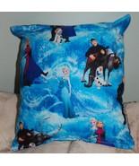 Frozen Pillow Disney Frozen Pillow HANDMADE In USA Toddler , Travel , Da... - $8.99