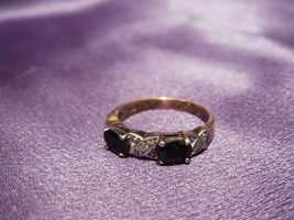 JJT Sterling Silver Onyx Band Ring - $34.65