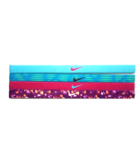 NEW Nike Girl`s Assorted All Sports Headbands 4 Pack Multi-Color #7 - $20.00