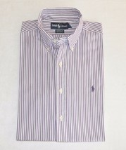 Ralph Lauren Men's Dress Shirt Button Down Long Sleeve Striped Size 15,5 - $12.99
