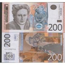 SERBIA 200 dinars UNC 2013 dinara - $2.97