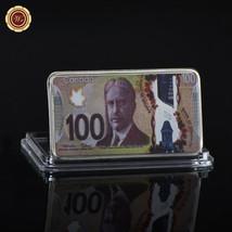 WR Canada 2011 100 Dollars Colored 999 Silver Ingot Bullion Metal Art Ba... - $4.48