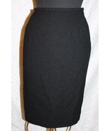Jaeger 100% Wool Straight Skirt 14 Pencil Knit Classic - $24.20