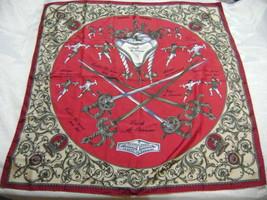 vintage Hermes shawl - Big scarf Traité des armes (Canada) - $170.96