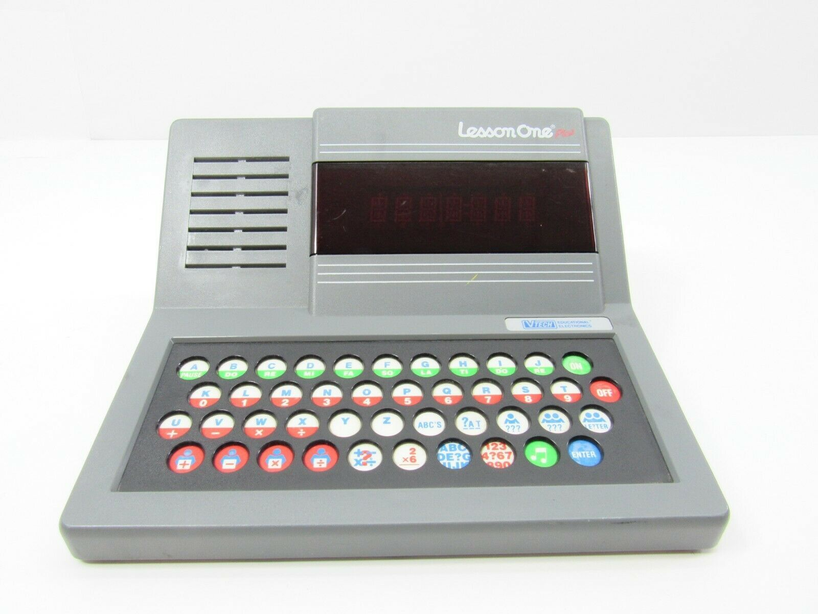Primary image for Vintage Vtech Educational Lesson One Plus Pre-Computer Children Learning WORKS!