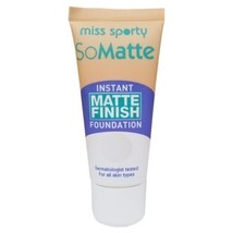 Miss Sporty So Matte Perfect Stay Foundation Matte Finish & Shine Contro... - $6.25
