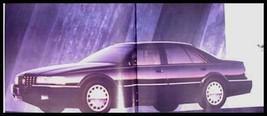 1993 Cadillac Dlx Brochure Allante Eldorado STS - $8.40