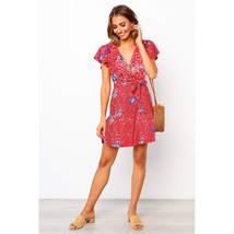Fashio A Line Women Beach Bohemian Skirt Strapless Short Prom Party Gown... - $22.88