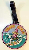 Tropi Cola Pink Surfer Patch Golf Bag Tag - $16.34