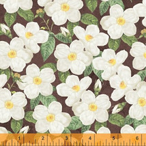 AVA floral by Whistler Studios 100% cotton Fabric by the yard - $5.89