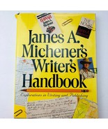 James A. Michener's Writer's Handbook Explorations in Writing  Publishing  - $18.80