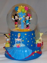 100 Year Celebration Walt Disney Musical Snow Globe Mickey Mouse - $63.77