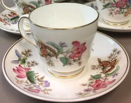 Set of 6 Wedgwood SANDON Trio Tea Cup & Saucer With Dessert & Pie Plate WD 4010 - $92.07