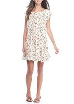 Free People Women's Fake Love Sleeveless Open Back Mini Dress Ivory $128 Size M - $24.74