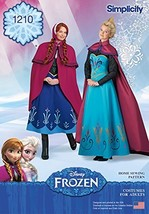 Simplicity Creative Patterns 1210 Disney Frozen Costumes for Misses', HH (6-8-10 - $13.23