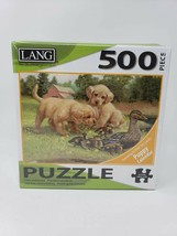 Lang 500 Pc Jigsaw Puzzle - New - Follow the Leader - $29.99