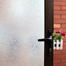 Mikomer Privacy Window Film,Decorative Glass Door Film,Static Cling Wind... - $26.49