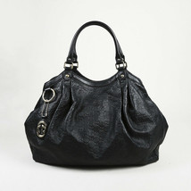 Gucci Large Sukey Guccissima Monogram Leather Shoulder Bag - $760.00