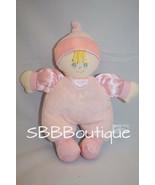 "Chosun All Mine BABY DOLL 10"" Pink Plush Rattle Satin Soft Stuffed Toy L... - $16.33"
