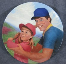 Batter Up A Father's Love Collector Plate Betsy Bradley COA Vintage - $11.97