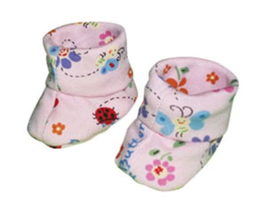 Primary image for Preemie & Newborn Butterflys and Dragonflys Booties for Babies