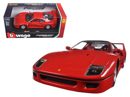 Ferrari F40 Red 1/24 Diecast Model Car by Bburago - $38.33