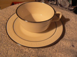 Franciscan Moonglow cup and saucer 7 available - $10.84