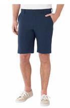 Greg Norman Men's Ultimate Travel Shorts Navy Size: 32 - $22.65