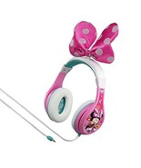 Minnie Mouse Headphones for Kids with Built in Volume Limiting (Pink|Girl) - $18.06